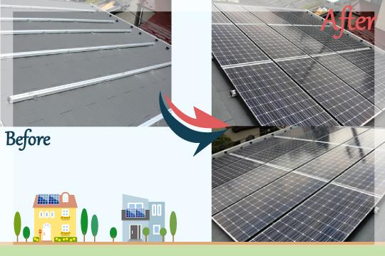お客様の声 埼玉県越谷市 太陽光発電システム工事