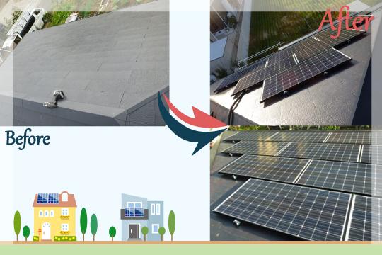 お客様の声 茨城県行方市 太陽光発電システム工事