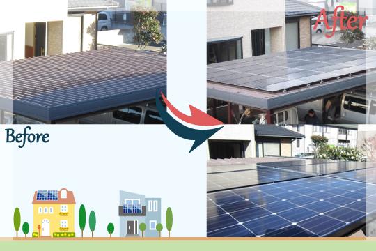 お客様の声 茨城県筑西市 太陽光発電システム工事