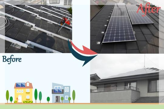 お客様の声 埼玉県東松山市 太陽光発電システム工事