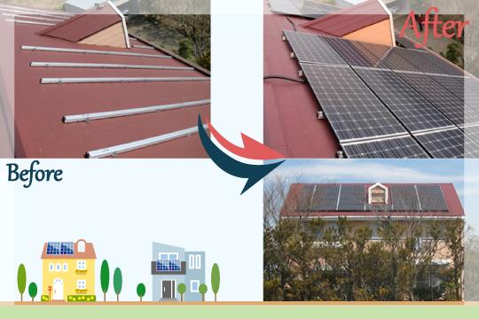 お客様の声 茨城県神栖市 太陽光発電システム工事