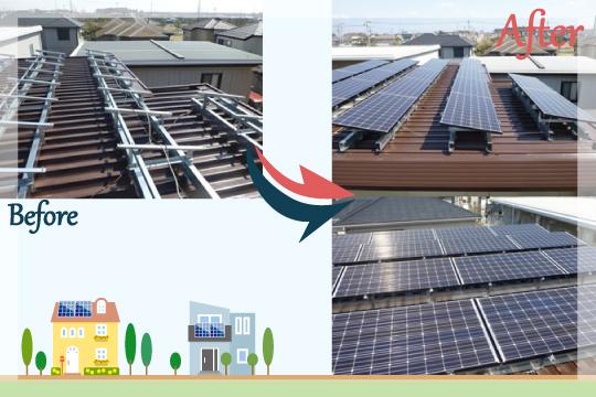 お客様の声 千葉県四街道市 太陽光発電システム工事