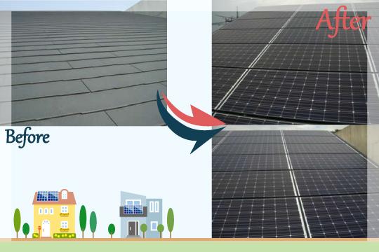 お客様の声 埼玉県川口市 太陽光発電システム工事