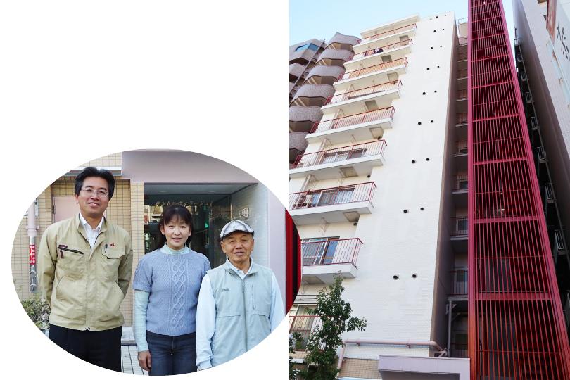 東京都北区サントルヴィラージュⅠ・Ⅱ 大規模修繕工事
